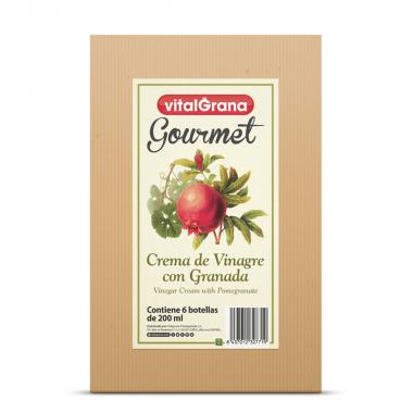Crema de vinagre con granada 200ml