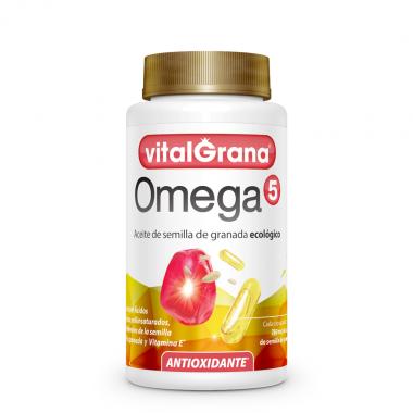 Vitalgrana Omega 5 - Bote de 60 cápsulas.