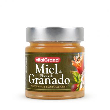 Miel de Flores de granado de 300gr