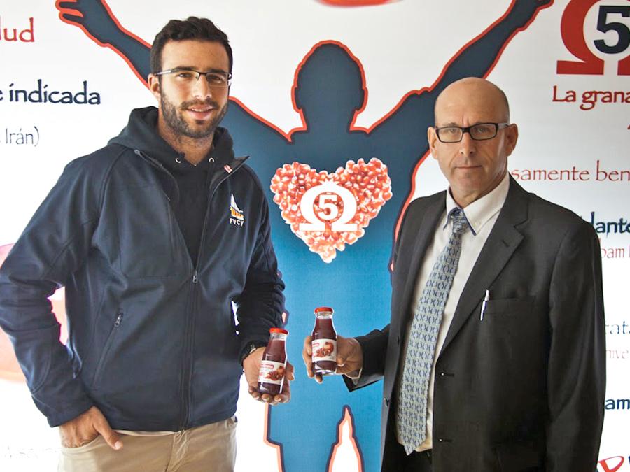 Vitalgrana se suma al Proyecto Olímpico Río 2016 del regatista ilicitano del Club Náutico Santa Pola, Alejandro Aranzueque
