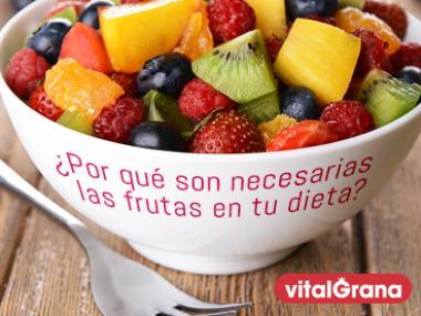 ¿Por qué es necesario tomar fruta?