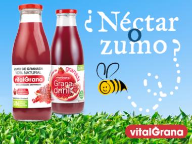 Las diferencias entre zumo y néctar