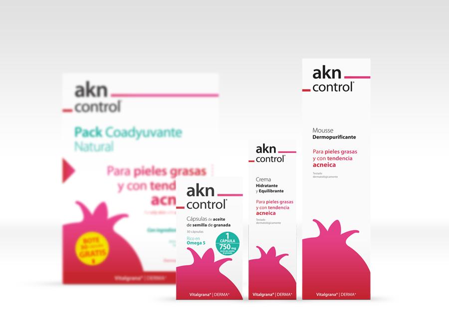 Contra el acné: akn_control de Vitalgrana, el tratamiento natural y eficaz