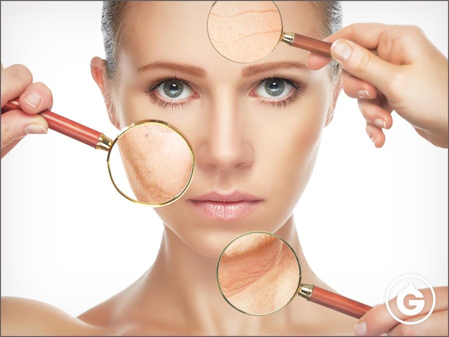Vitalgrana Omega 5 sobre el envejecimiento cutáneo