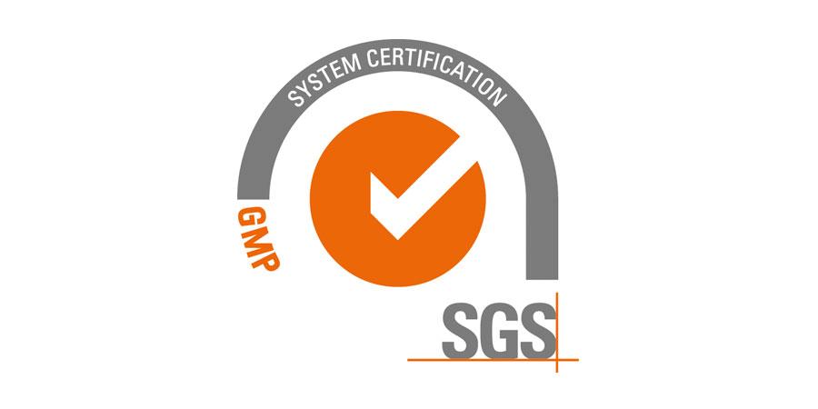 Sello certificación de la GMP