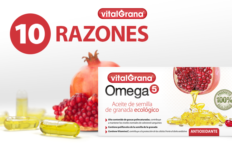 10 Razones para tomar Omega 5
