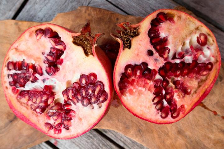 Granada: fruta anticancerígena
