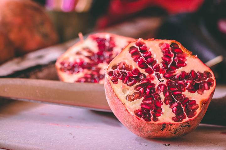 beneficios granada fruta