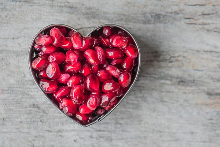 Granada fruta y la diabetes
