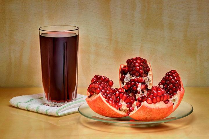 Beneficios del zumo de granada en ayunas. ¡Mantén tu cuerpo lleno de energía!