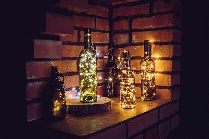 10 ideas para reutilizar botellas de vidrio. ¡Originales y creativas!