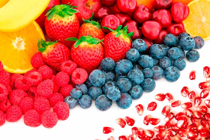fruta para deportistas