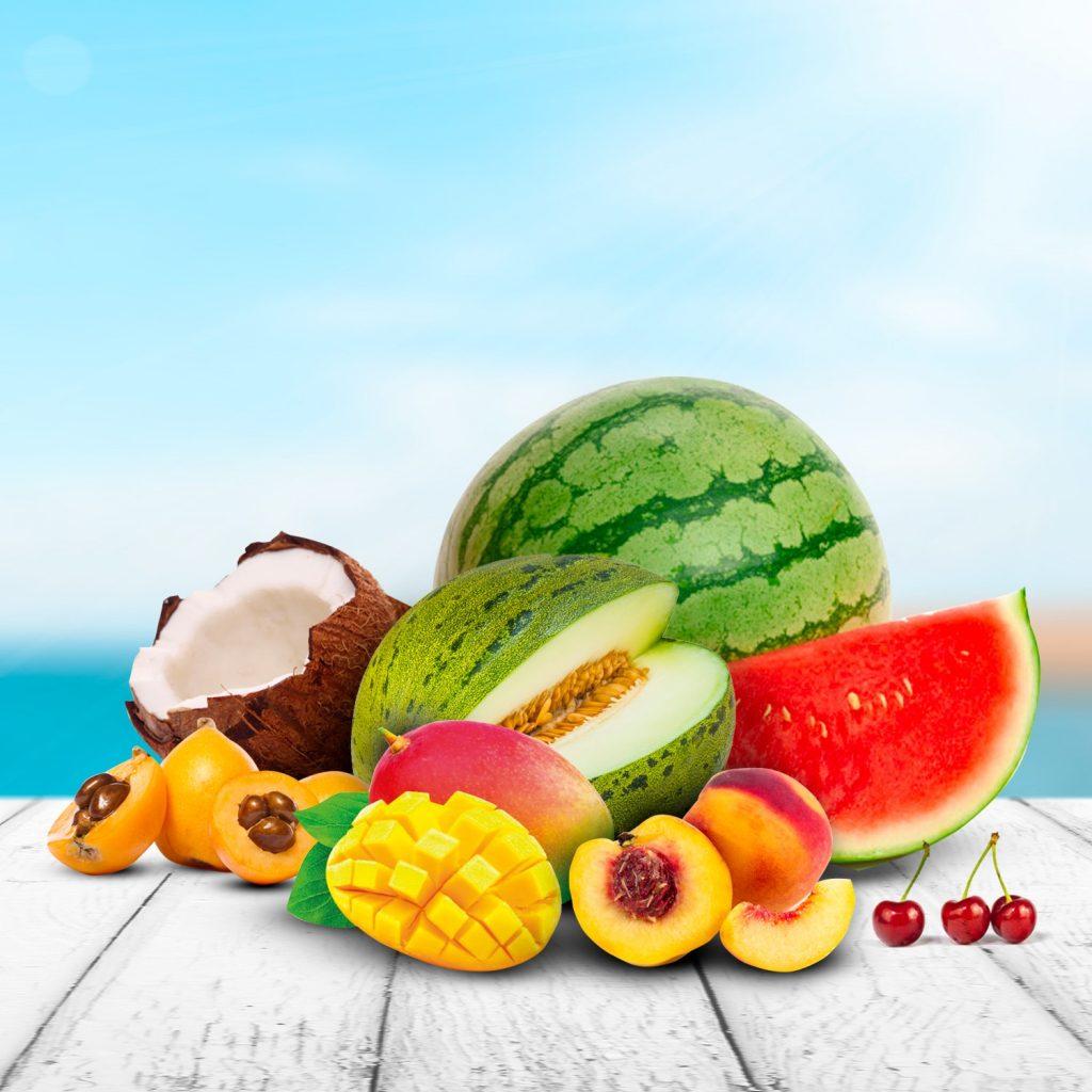 Las frutas más refrescantes para el verano