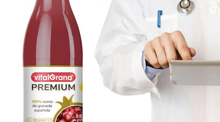 Efectos antiinflamatorios del zumo de granada